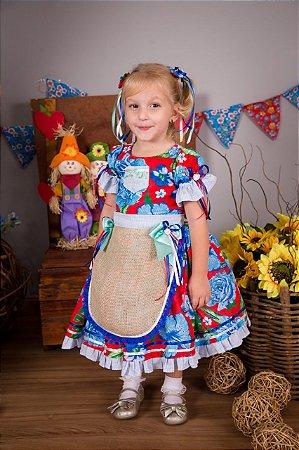 Vestido De Festa Caipira- vestidos para festa junina