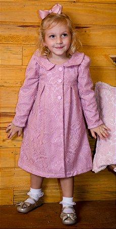 Sobre tudo de Renda Rosa  - coleção de inverno infantil