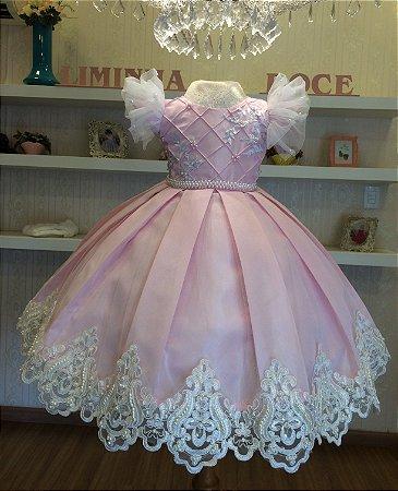 Vestido de Festa Cisne-Vestidos de temas infantil