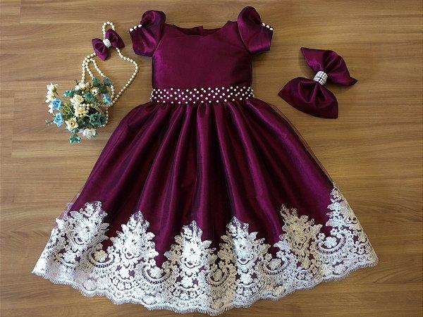 Vestido de Festa Masha -vestidos de temas infantil