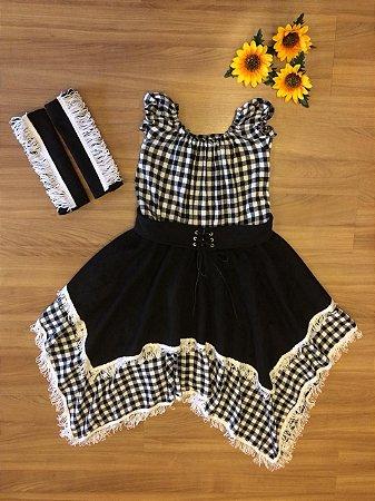 Vestido de Festa country- vestidos para festa junina