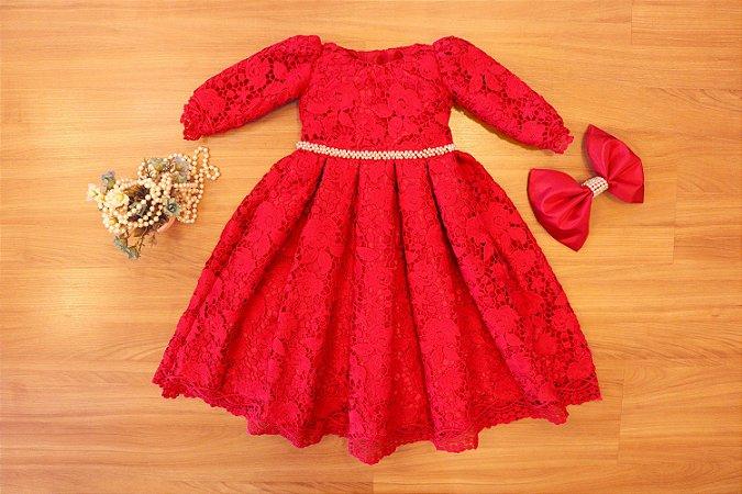 Vestido de Festa Pink - Vestidos de Festa Infantil