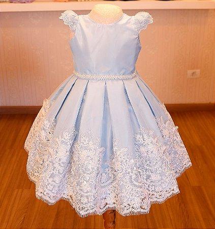 Vestido  Cinderela  - Vestidos de Festa Infantil