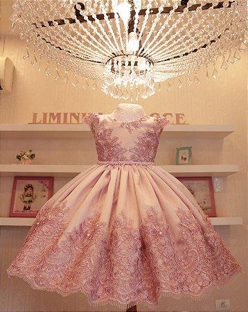 Vestido De Formatura Rose - Vestido de Festa Infantil