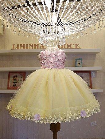 Vestido Jardim Encantado - Vestidos de temas Infantil