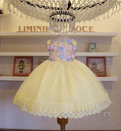 Vestido Festa Bosque Encantado - Vestidos de temas Infantil