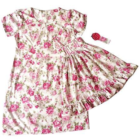 Vestido Mãe e Filha Floral - Conjunto Mãe e Filha