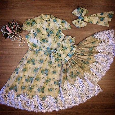Vestido Mae e Filha Floral - Mãe e Filha