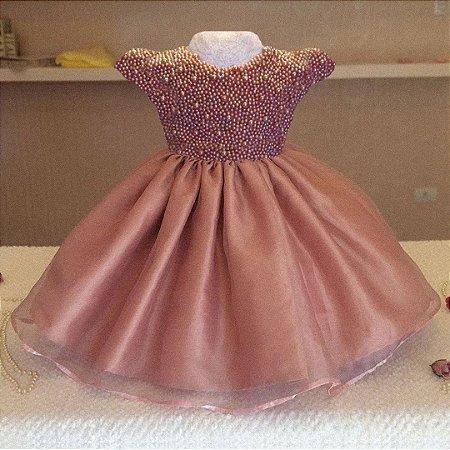Vestido Para Formatura Rose  - Infantil