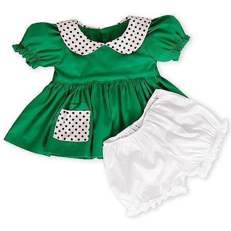 Vestido da Chiquinha -Vestido Temas Infantil