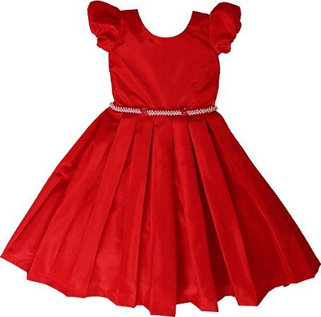 Vestido Vermelho -daminhas de honra