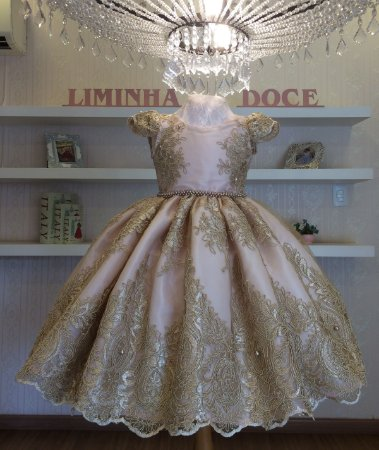Vesttido Realeza -Vestido de Festa