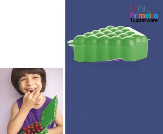 Tupper Uva Verde - Tupperware