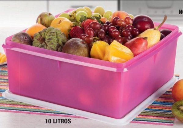 Super Caixa Pink 10 Litros - Tupperware
