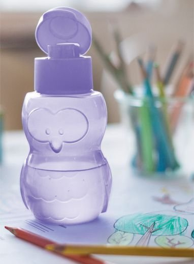 Eco Kids Garrafa Coruja Lilás 350ml - Tupperware