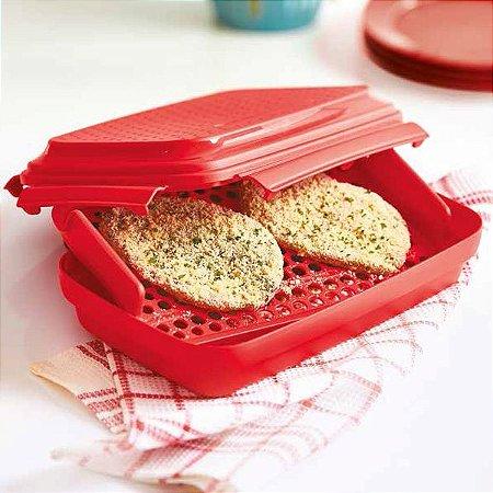 Click & Shake Vermelho - Tupperware