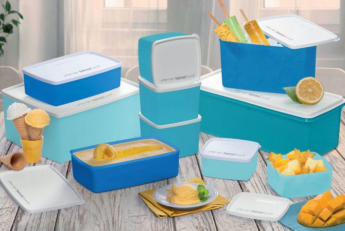 Bea Freezer Azul 10 peças - Tupperware