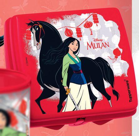 Porta Sanduíche Mulan - Tupperware