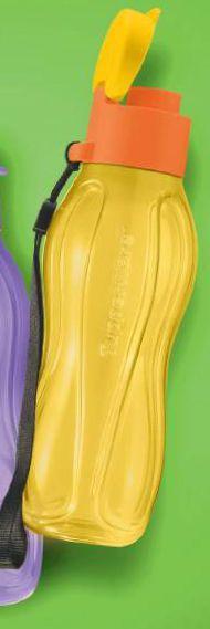 Mini Eco Tupper Garrafa Plus Amarela 310ml - Tupperware