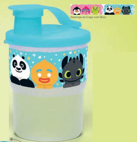 Copo Colors com Bico Koukou 225ml - Tupperware