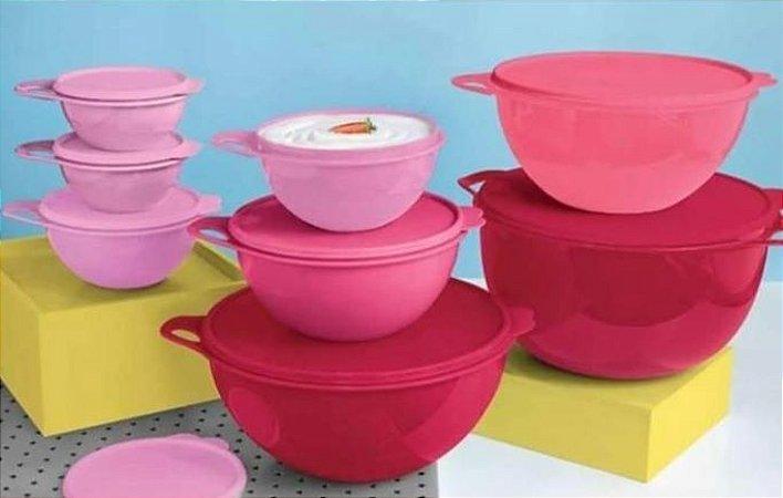 Bea Criativas Rosa 8 peças - Tupperware