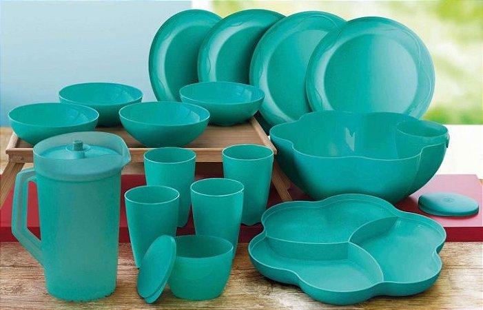 Bea Floresta Mint 16 peças - Tupperware