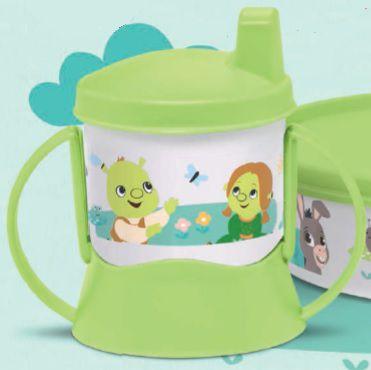 Copo com Bico e Alça Baby Shrek 150 ml - Tupperware