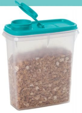 Porta Cereais Tampa Mint 850ml - Tupperware
