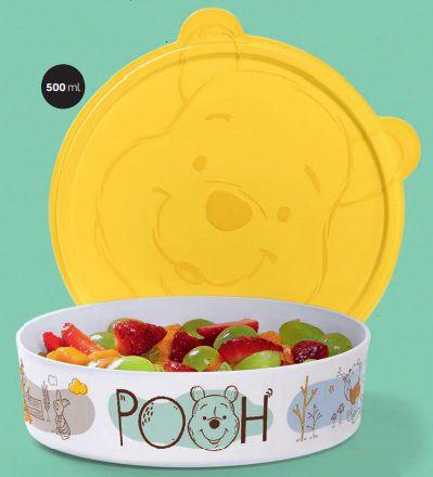 Tupper Pratinho Ursinho Pooh 500ml - Tupperware