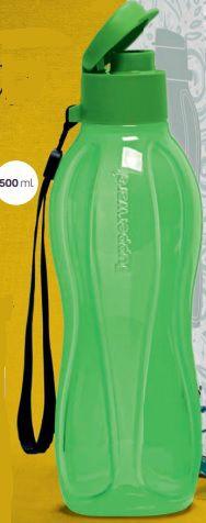 Eco Tupper Garrafa Plus  500ml Verde - Tupperware