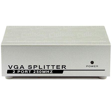 Vídeo Splitter 1X2 - Distribuidor de Sinal VGA