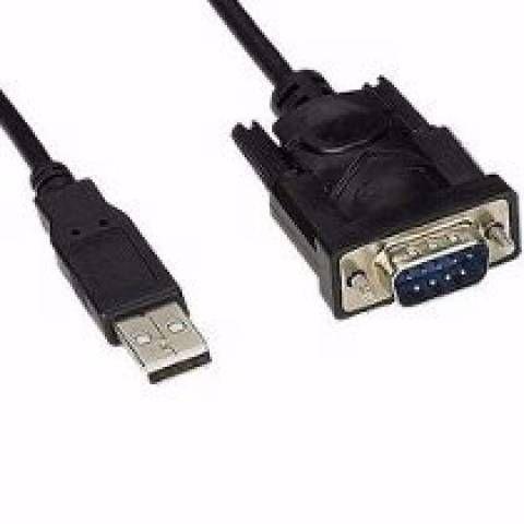 Cabo adaptador conversor USB serial RS232- JIKATEC