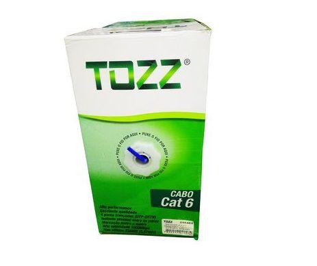 Caixa Cabo de Rede Cat6 - TZ6 - 305 metros - Tozz