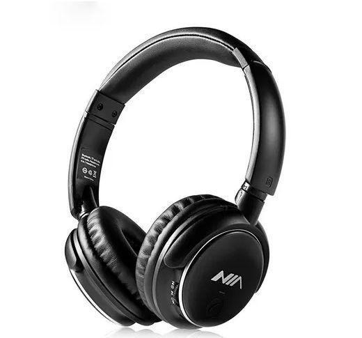 Fone Bluetooth NIA Q1 | Rádio FM, Micro Sd, Microfone | 4 em 1