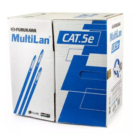 Cabo de Rede Furukawa CAT5e Antichamas - MultiLan