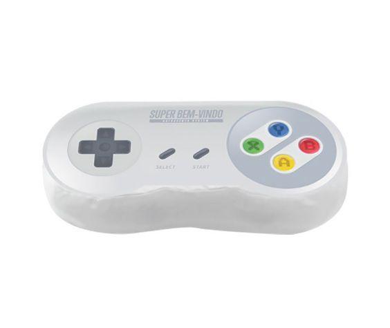Almofada Controle Super Nintendo Decorativa