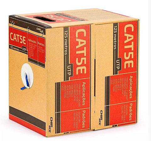 Caixa de Rede UTP CAT5e 125 metros - ChipSce