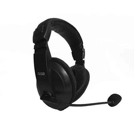 Fone Com Microfone Headset P2 - Giga