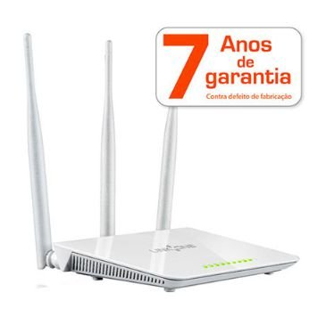 Roteador Wireless N | Link One | 4 portas | 300mbps L1-RWH333