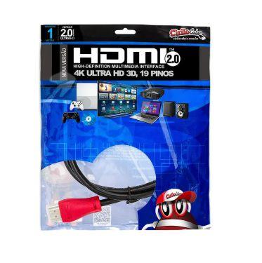 Cabo HDMI 2.0 Premium Ultra HD 4K@50/60 3D, Cirilo Cabos - 1 metro