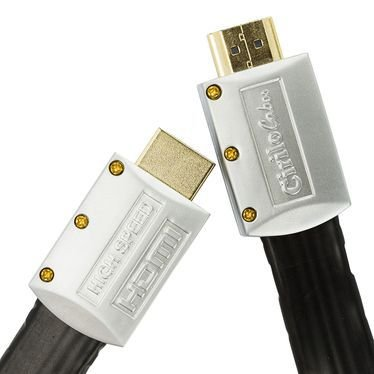 Cabo HDMI 2.0 Flat Desmontável - 19 Pinos, 4K, Ultra HD, 3D - 8 Metros - Cirilo Cabos