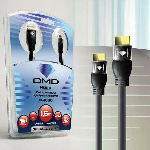 Cabo HDMI  X mini HDMI - Diamond 1,5m
