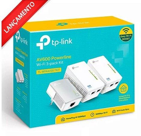 Roteador Powerline Wireless Tp-link Tl-wpa4220 Tkit  Av600