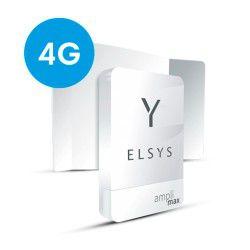 Amplimax 4g Roteador Para Internet E Telefone Rural - Elsys