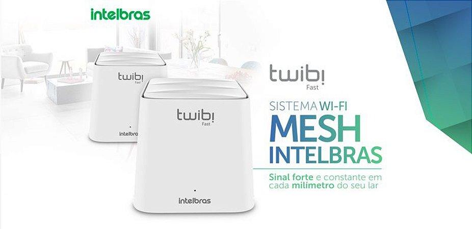 Roteador Wireless Ac 1200 Mesh Twibi Giga (2 Unidades)