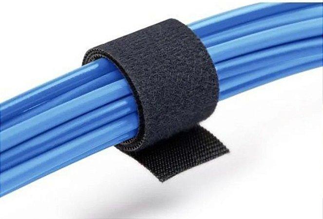 Rolo De Fita Velcro Qwik Tie 19mm X 3,6 Mts