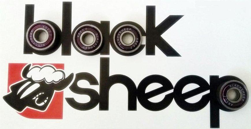 Rolamento Black Sheep Abec 7  skate Gratis parafuso de base Black Sheep Frete Gratis
