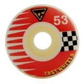 moska rodas skate 53mm fast vermelha