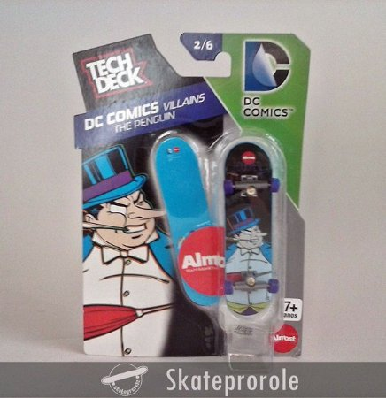 Comprar Tech deck Dc Comics Vallains The Penguim