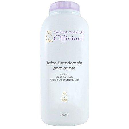 Talco Desodorante para os pés